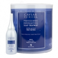 Alterna Caviar Clinical Dandruff Control professional exfoliating scalp treatment салонный уход 12 х 15 мл